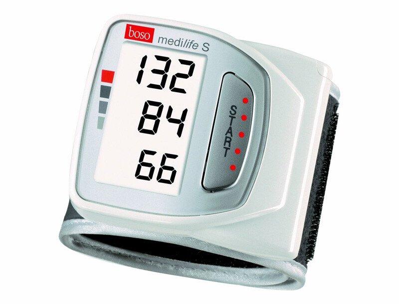 Máy đo huyết áp cổ tay Boso Medilife S