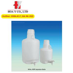 Bình nhựa HDPE chứa nước cất phòng thí nghiệm Scilab Hàn Quốc