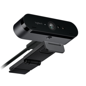 Thiết bị ghi hình cao cấp cho các cuộc họp, hội nghị   Webcam Logitech Brio Ultra HD Pro 4K