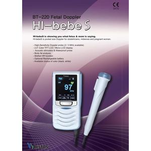 Máy nghe tim thai Bistos Hi-bebeS BT-220C