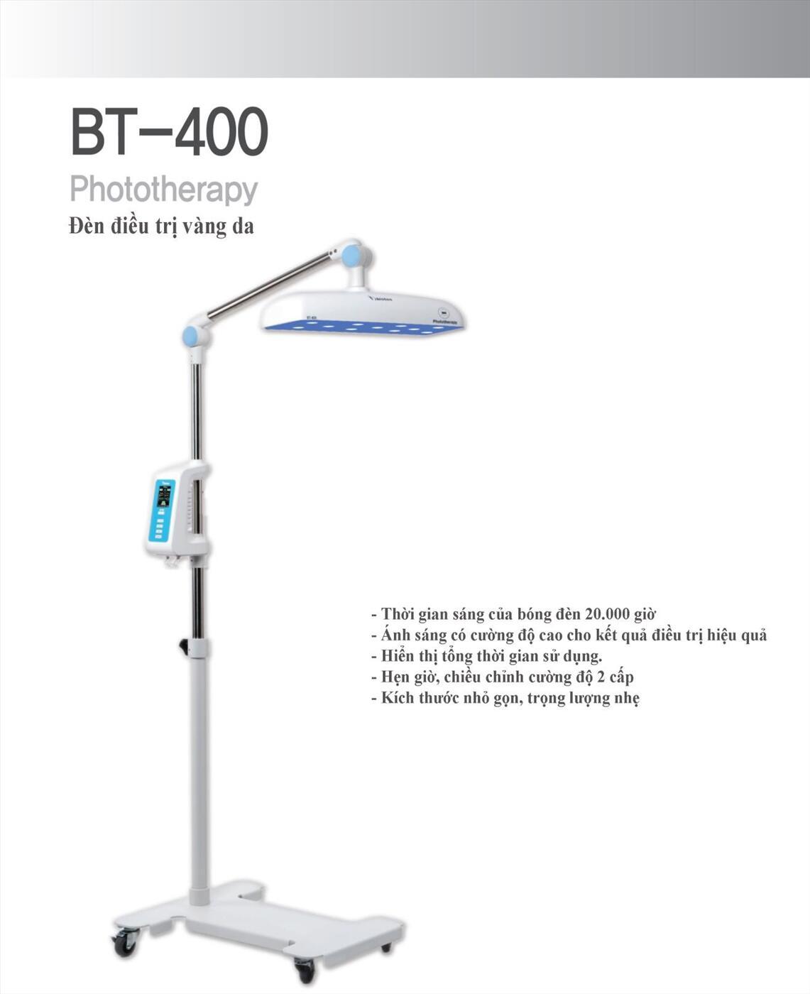 Đèn chiếu trị bệnh vàng da trẻ sơ sinh Bistos BT-400
