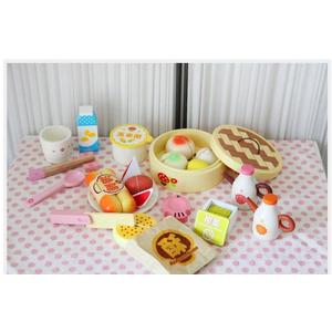 Bộ đồ chơi gỗ bữa sáng bánh bao ngọt ngào