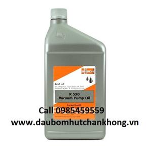 BUSCH VACUUM PUMP OIL R-590