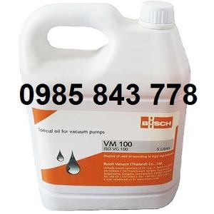 BUSCH VACUUM PUMP OIL VM 100