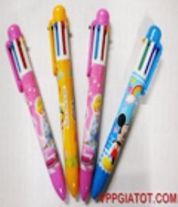 Bút bi 6 màu