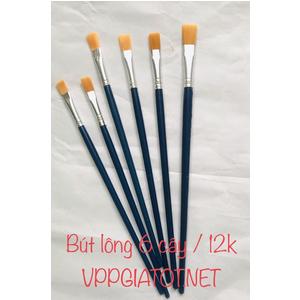 Bút lông 6 chiếc