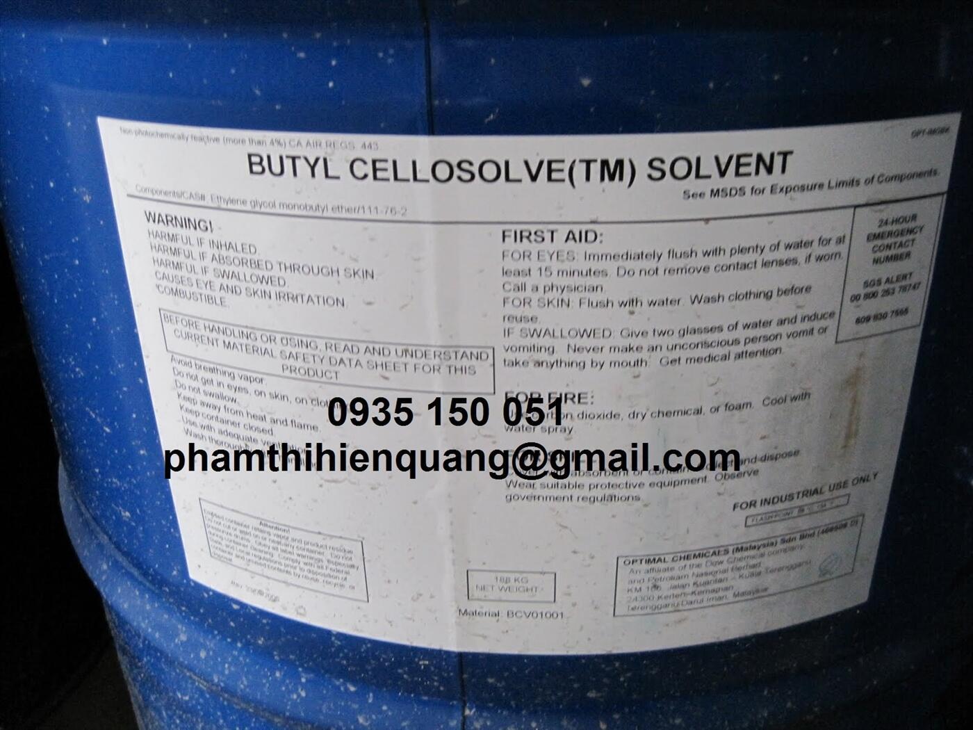 Butyl cellosollve (BCS)_C6H14O