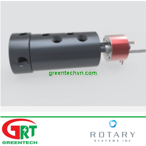 C016 | 4 Pass Threaded Shaft Union Combined with 5 Amp Slip Ring| Rotary System Vietnam