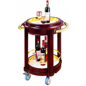 Xe phục vụ rượu trà 2 tầng C06