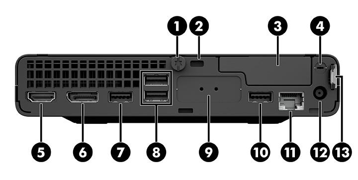 HP ProDesk 400 G6 Desktop Mini