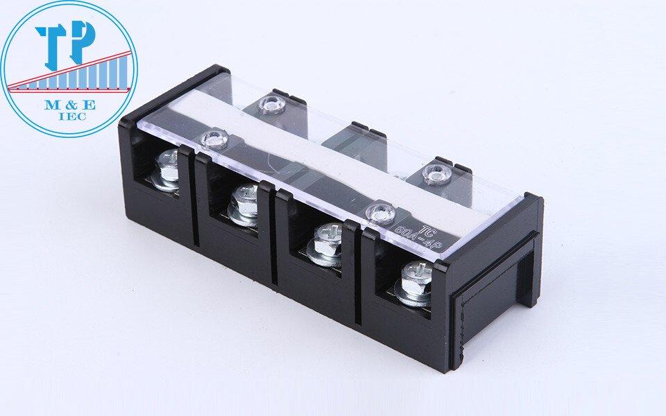 Cầu đấu khối TC-4004 400a 4p