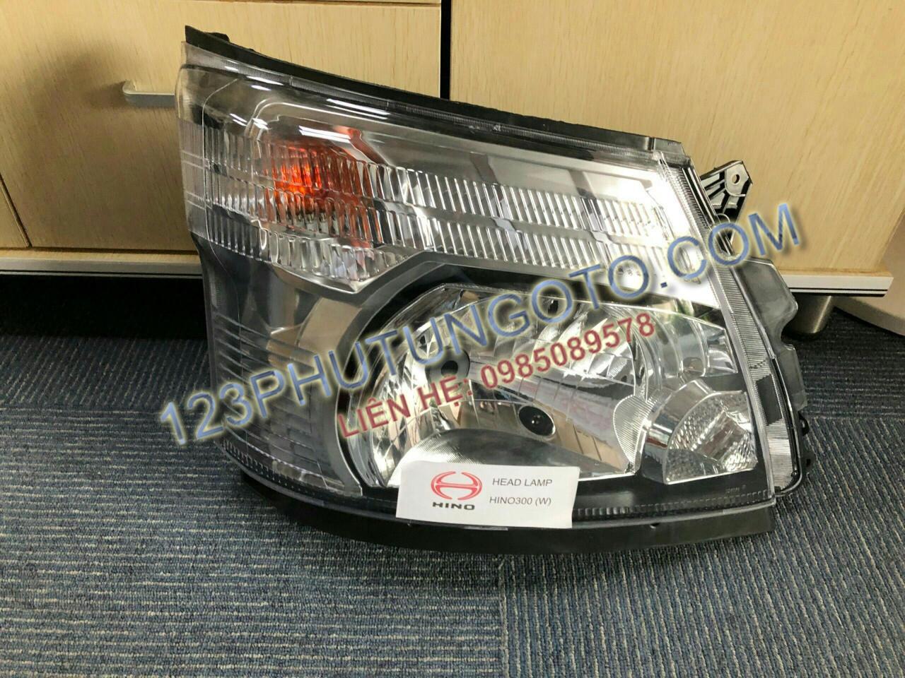 đèn pha xe hino 300 xzu
