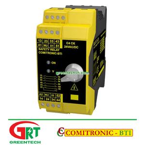 C4CK   Comitronic C4CK   Rơ le an toàn   Safety Relay   Comitronic Vietnam