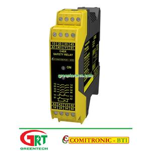 C4SX   Comitronic C4SX   Rơ le an toàn   Safety Relay   Comitronic Vietnam