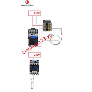 Bộ điều khiển nhiệt độ RKC REX C900 tặng đầu dò nhiệt độ