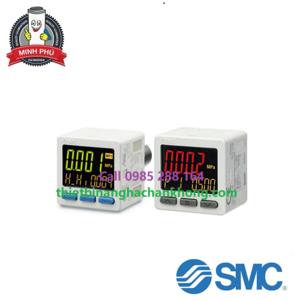 Cảm biến áp suất kỹ thuật số hiển thị 3 màn hình chính xác cao ZSE20C(F)/ISE20C(H)