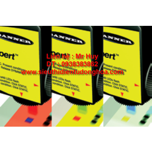 Cảm biến Banner R58BPCRGB1Q R58BNCRGB1Q R58BPCRGB2 R58BNCRGB2 R58BPCRGB2Q R58BNCRGB2Q