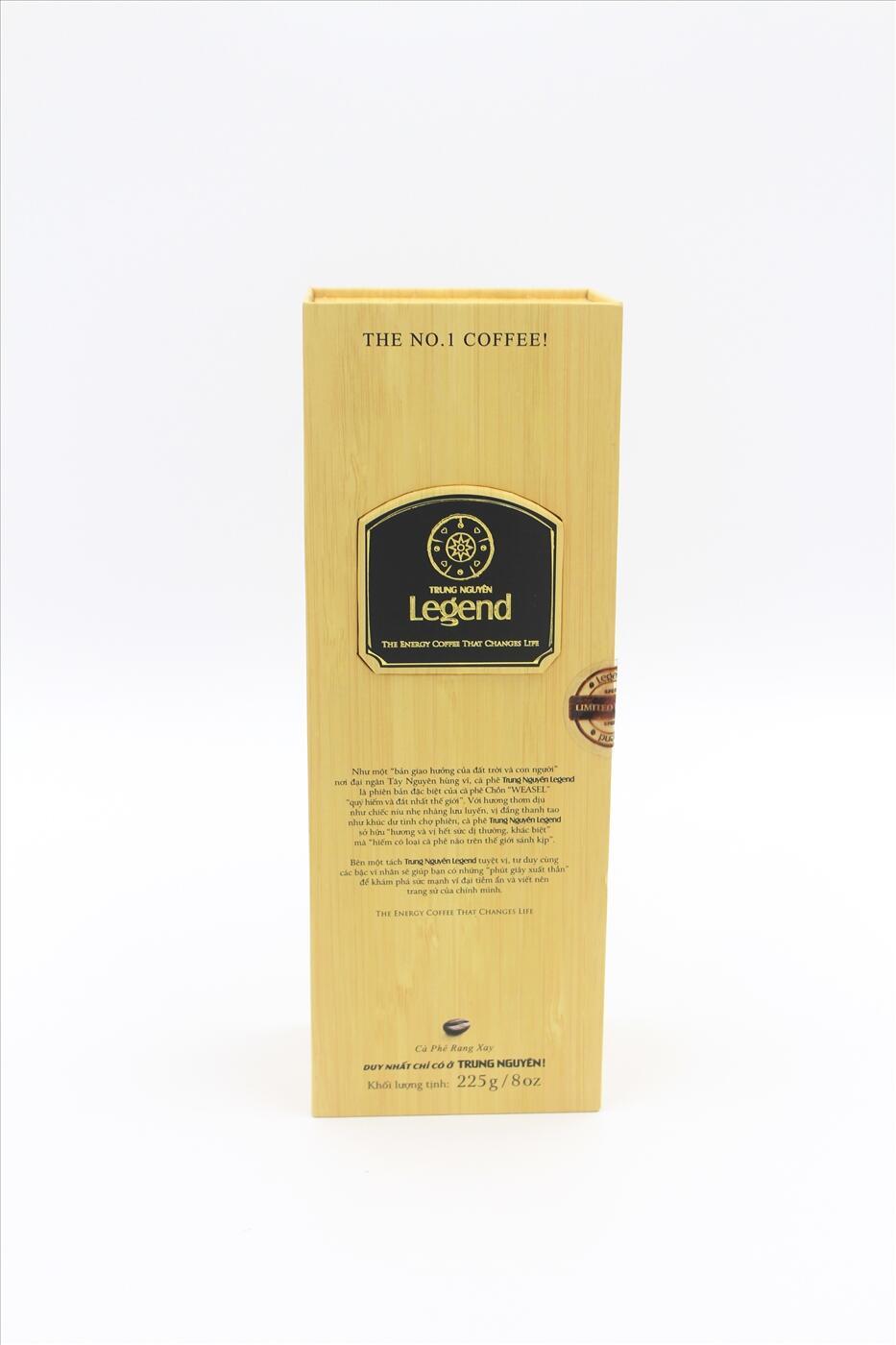 Cà phê chồn Legend Trung Nguyên - 225gr