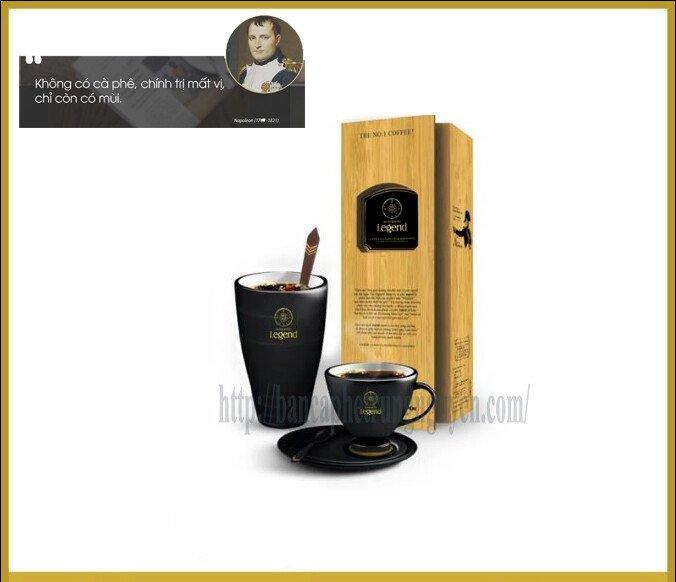 cà phê chồn legend Trung Nguyên