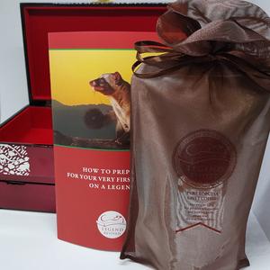 Hộp cà phê Chồn Robusta 125gram