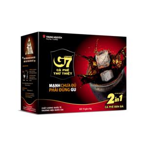 Cà phê G7 2in1 Trung Nguyên (Đen đường)