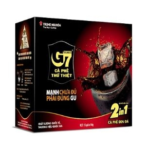 Cà phê G7 Đen Đường