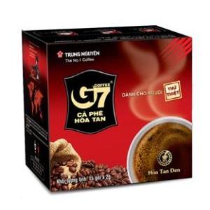 Cà phê G7 đen Trung Nguyên