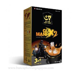 Cà phê G7 - Gu mạnh X2 ( 3in1) Trung nguyên