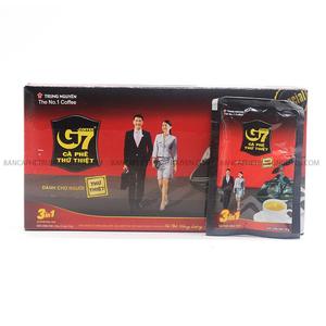 Cà phê G7 hòa tan 3in1 Trung Nguyên 21 gói