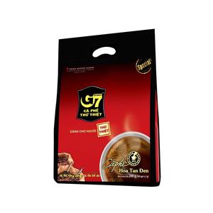 Cà phê G7 hòa tan đen - Bịch 100 gói