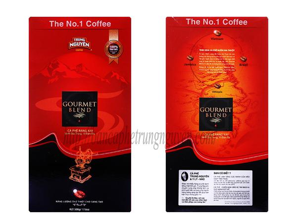 Cà phê phin Gourmet Trung Nguyên hộp 500gram