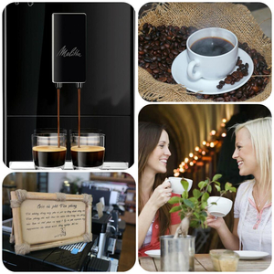 Cà phê hạt Espresso - Nghệ thuật Cà phê pha máy