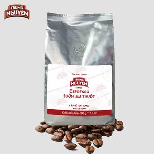 Cà phê hạt Trung Nguyên (500gr)