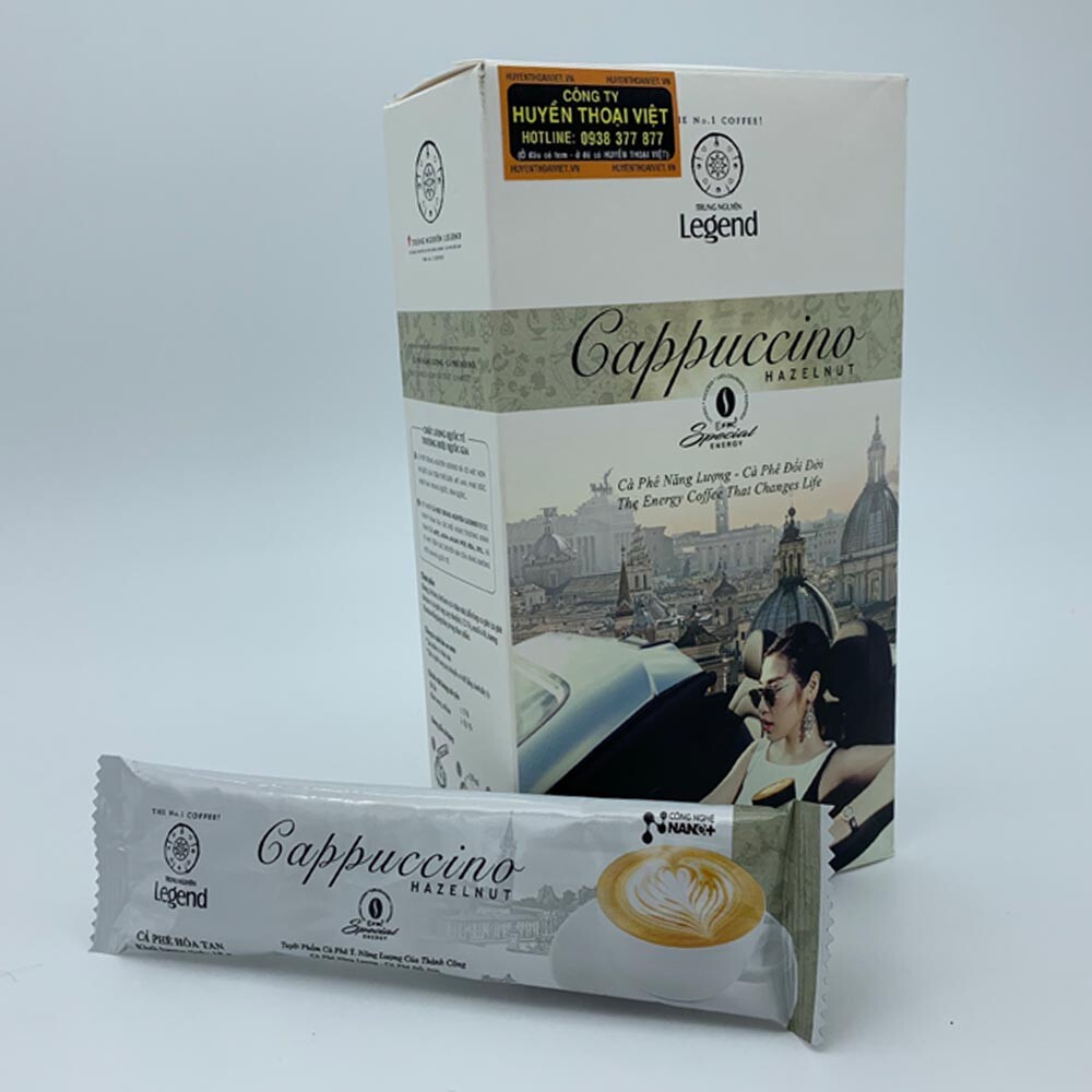 Hộp Cà phê hòa tan Cappuccino Hazelnut