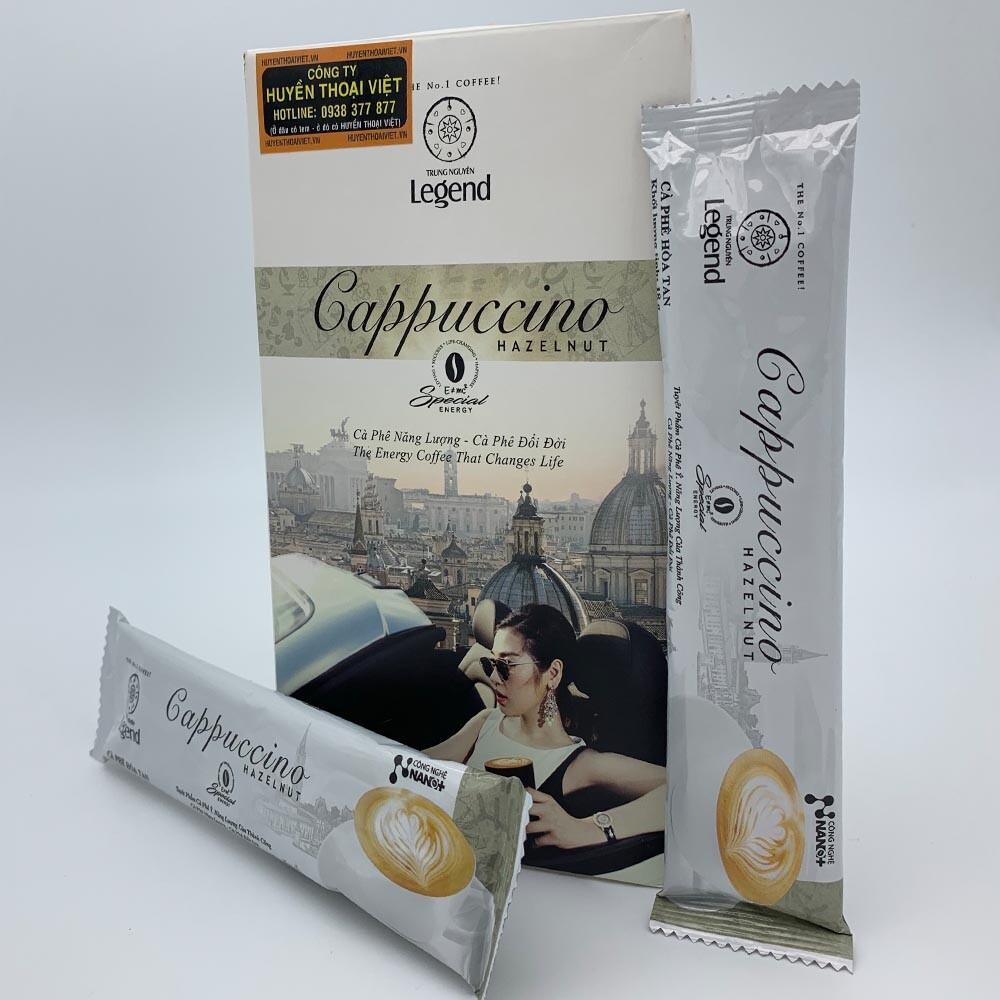 Cà phê hòa tan Cappuccino Hazelnut