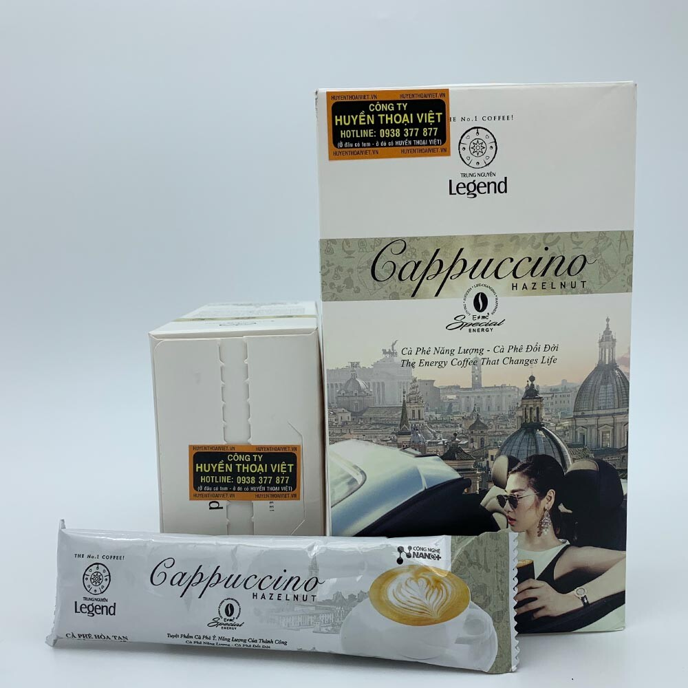 Cà phê Cappuccino Hazelnut Trung Nguyên