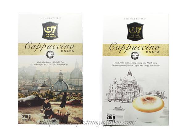 Cà phê hòa tan G7 - Cappuccino hương Mocha