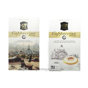 Cà phê hòa tan G7 cappuccino ra mắt bao bì mới