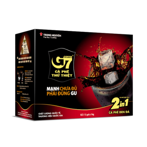 Cà phê hòa tan G7 đen đá