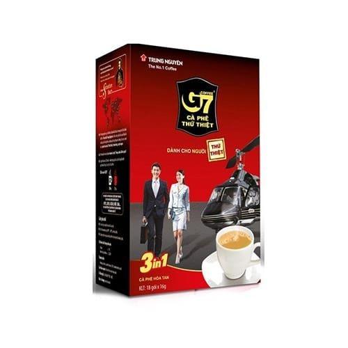 cà phê hòa tan G7 18 gói