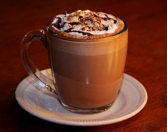 Mocha coffee, ca phe mocha, ca phe moka