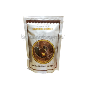 Cà phê phin con sóc nâu bịch 500gram