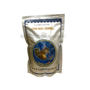 Cà phê phin con sóc xanh bịch 500 gram