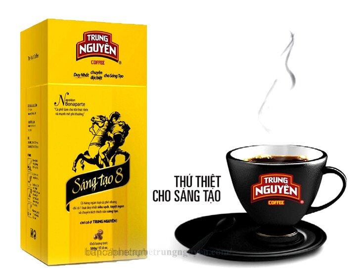 cà phê trung nguyên sáng tạo 8