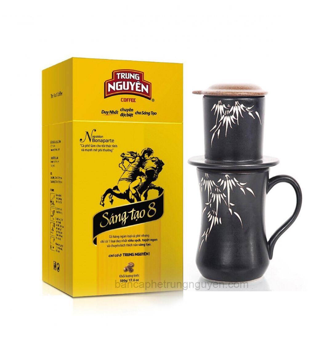 sản phẩm cà phê Trung Nguyên