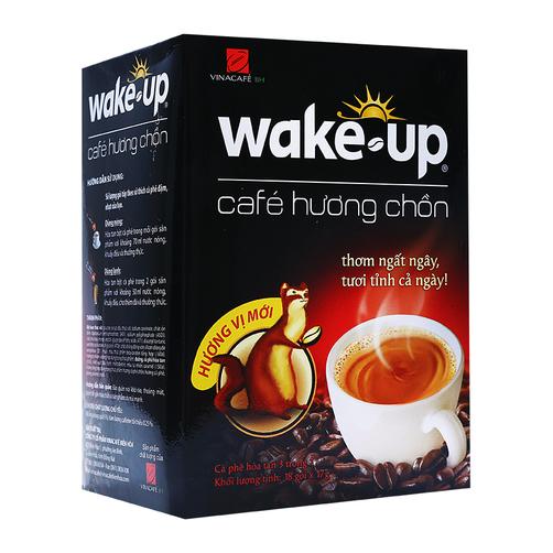 Cà phê hòa tan Wake up hương chồn Vinacafe
