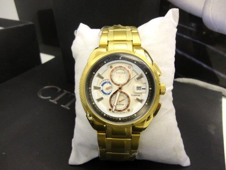 Đồng hồ nam nhật bản Citizen Chronograph CA0201-51G