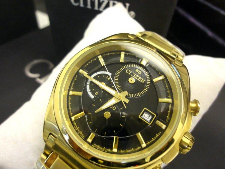 Đồng hồ nam Citizen Chronograph CA0356-G1A