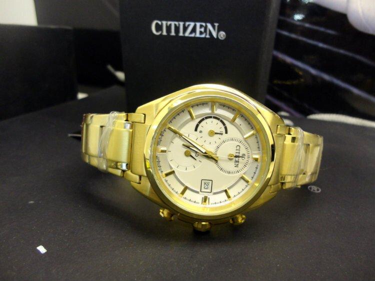 Đồng hồ nam Citizen Chronograph CA0356-G7A