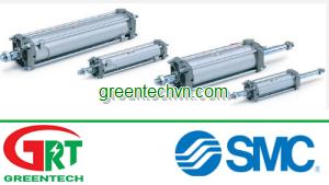 Pneumatic cylinder / double-acting / adjustable-stroke   CA2 series  SMC Pneumatic   SMC Vietnam